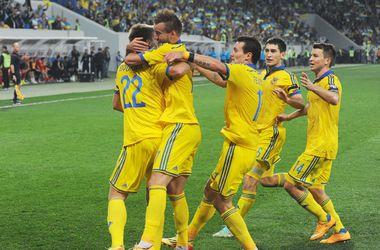 Сборная Украины входит в десятку сильнейших в Европе
