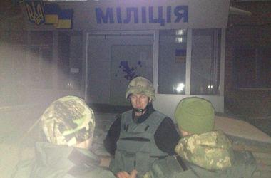 Ночью в Авдеевке под обстрел попал горотдел милиции
