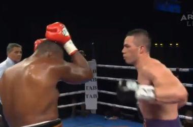 Кличко на заметку: Джозеф Паркер эффектно нокаутировал бразильского боксера