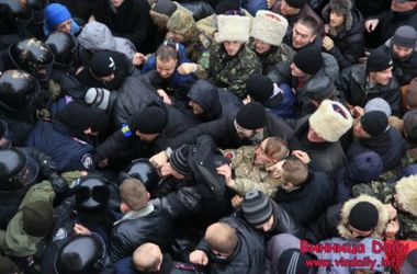Милиция объяснила причину столкновений в Виннице