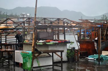 Число эвакуированных из-за тайфуна филиппинцев превысило миллион человек