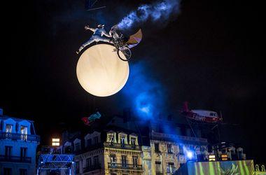 Во французском городе Лионе проходит грандиозный Фестиваль Света