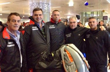 Соперник Усика Дэни Вентер прибыл Киев