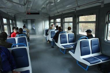 В Киеве отменили поезд городской электрички