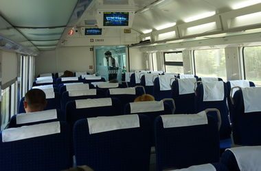 В скоростных поездах Украины уже год не работает интернет