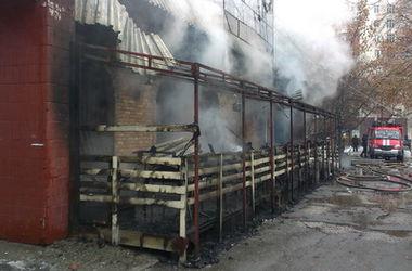 В Киеве дотла сгорел известный паб