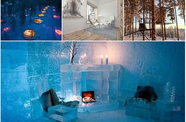 ТОП-5 самых удивительных и волшебных отелей для зимнего отдыха
