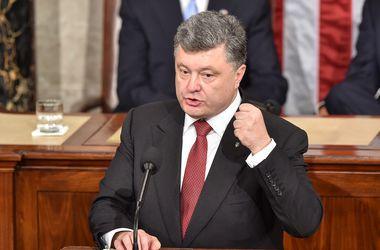Порошенко поблагодарил американских сенаторов за поддержку Украины
