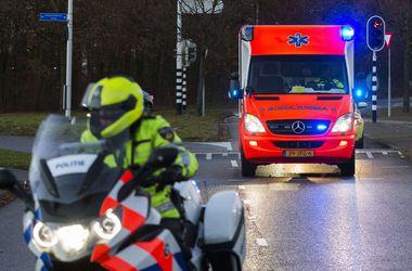 На скоростной трассе в Греции столкнулись 35 машин