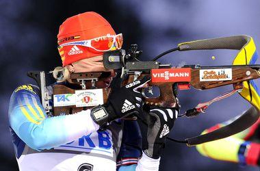 Две украинки вошли в топ-10 гонки преследования на этапе Кубка мира по биатлону