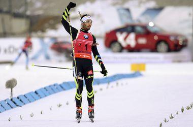 Мартен Фуркад выиграл гонку преследования