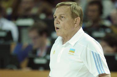Майк Фрателло продолжит тренировать сборную Украины по баскетболу