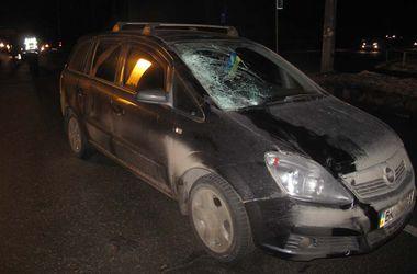 В Киеве водитель насмерть сбил пешехода на темной улице