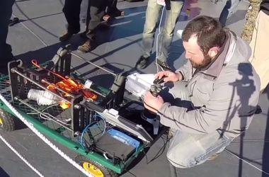 Первое плавание подводного робота-шпиона выложили в Интернет