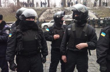 Как киевские водители и контролеры толкались с милиционерами