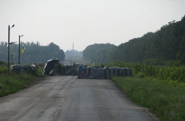 На украинских блокпостах провели ротацию