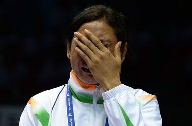 Индийскую спортсменку дисквалифицировали за отказ получить медаль
