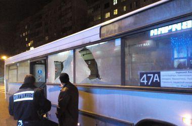 Во Львове обстреляли рейсовый автобус