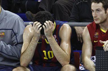 """Матч """"Панатинаикос"""" - """"Барселона"""" прерван из-за угрозы взрыва"""