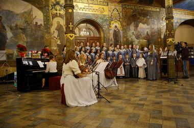 В Киево-Печерской Лавре состоялся благотворительный концерт для детей и взрослых