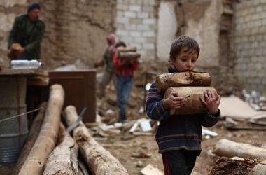 В Сирии под авианалет попал школьный автобус