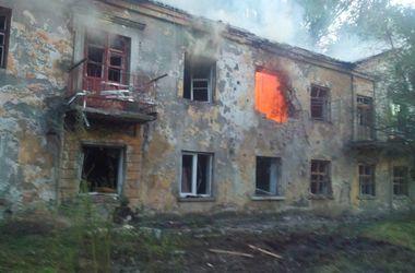 Террористы обстреляли Горловку