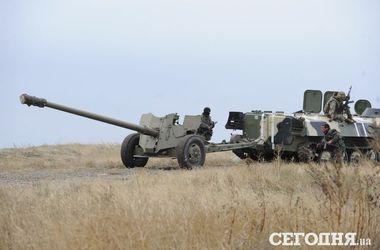 Украинская артиллерия будет отведена только тогда, когда в Донбассе полностью прекратится огонь – Генштаб