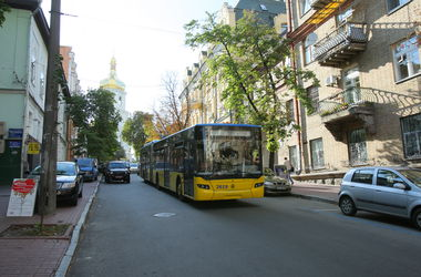В Киеве меняется маршрут троллейбуса №40