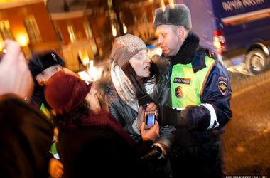 В Москве задержали митингующих врачей и учителей