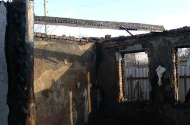 На пожаре под Харьковом погибли три человека