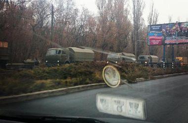 В Донецк прибыли колонны грузовиков с боеприпасами - СНБО