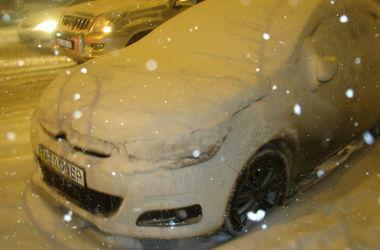 На Днепропетровск обрушилась снежная буря