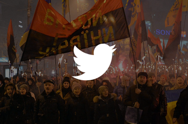 Что писали пользователи соцсетей на факельном марше Бандеры
