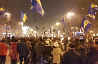 Милиция задержала хулигана, напавшего на российских журналистов в центре Киева