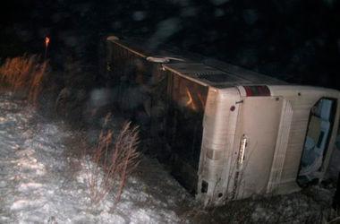 В Тернопольской области перевернулся автобус с паломниками, есть пострадавшие