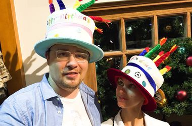 Кристина Асмус и Гарик Харламов отметили первый день рождения дочери в США