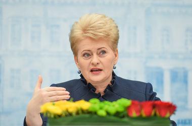 Грибаускайте: Диалог с Россией практически невозможен