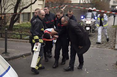 В Сети появилось видео нападения на редакцию Charlie Hebdo в Париже