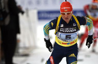 Украинские биатлонистки заняли шестое место в эстафете на Кубке мира