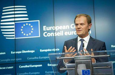 Глава Евросовета назвал теракт в Париже атакой на фундаментальные европейские ценности