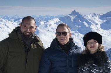 """Джеймс Бонд отправился в Альпы: Съемки """"Спектра"""" ведутся в горах"""