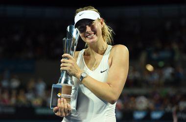 Мария Шарапова выиграла турнир в Брисбене