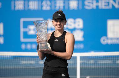 Румынская теннисистка Симона Халеп выиграла турнир в Шэньчжэне