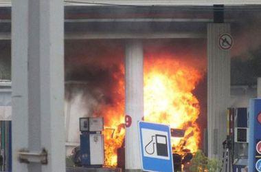 В Броварах на автозаправке прогремел взрыв