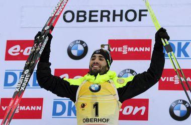 Мартен Фуркад выиграл масс-старт Кубка мира по биатлону