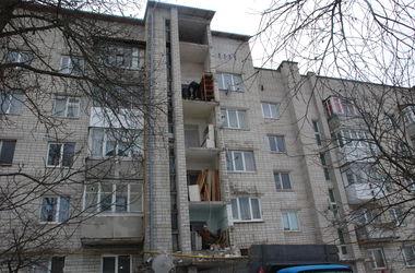 Во Львовской области обрушилась стена пятиэтажного дома