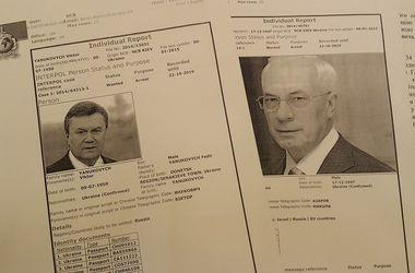 Интерпол объявил Януковича и Азарова в международный розыск – Аваков