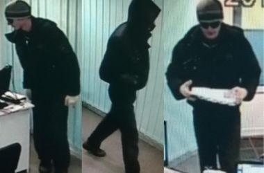 В Киеве ищут серийного грабителя банков