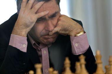 Василий Иванчук - один из лидеров шахматного турнира в Голландии