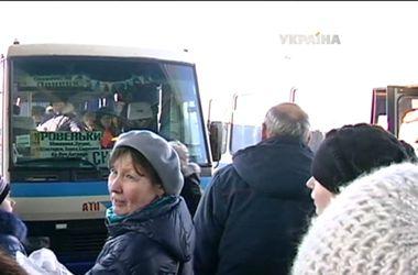 Из Донецка начали ездить автобусы